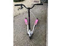 Pink girls Flicker scooter