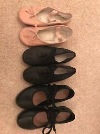 Bloch Dance shoes - Ballet, Tap & Modern