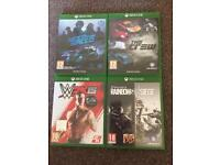 Xbox one games £10 EACH