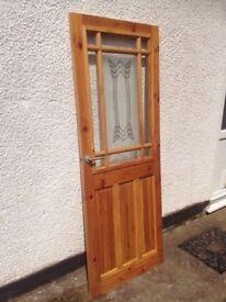 Wood and Glass internal door