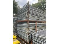 •USED• HERAS SECURITY FENCING PANELS - 3.45 X 2M