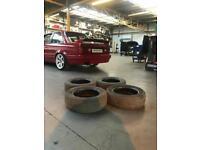 "Cooper 185/60R14 14"" Part Worn Used Tyres Midrange 5mm Tread"