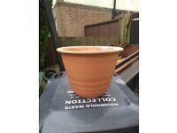 Yorkshire terracotta plant pot ,planter ,garden pot