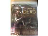 The Walking Dead Season 2 Tell Tale Games PS3 BRAND NEW STILL SEALED