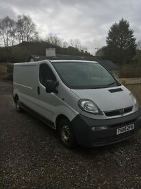 Vivaro Lwb!!! Great van!!