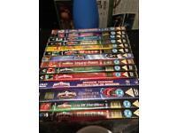 Power Rangers DVDs over 15