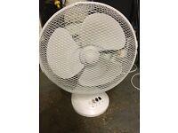 Desk Fan approx 35 cms diameter