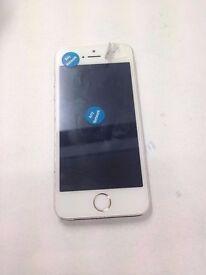 Apple iPhone 5s 16GB - (UNLOCKED)- white £160 A GRADE