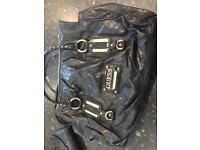 Genuine used guess handbag and purse
