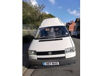 Much loved and well cared for T4 VW Camper Van. Old but reliable with full service history.
