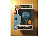 Funko Pop limited edition chase Mr Meseeks