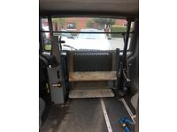 Disabled tail lift