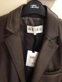 Reiss leather jacket BNWT