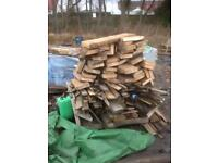 Job lot of fire wood £25. Will need trailer or van to collect from Carron (Falkirk)