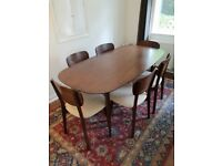 REDUCED John Lewis Orbit Dining Furniture Set. Table and 6 chairs.