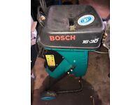 bosch wood shredder