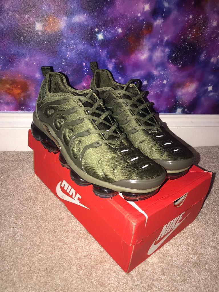 9d871210bf7 Nike Vapormax Plus Khaki Size 10