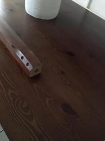 OBLONG WALNUT DINING TABLE