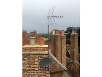 Digital TV Aerial and Satellite engineer repair and installation or SKY Freesat and Freeview