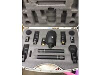 GATT 7 piece microphone set