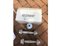 Reebok 6kg chrome dumbbell set