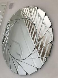 DUNELM MIRROR brought a week ago (only 2 small cracks) rrp56
