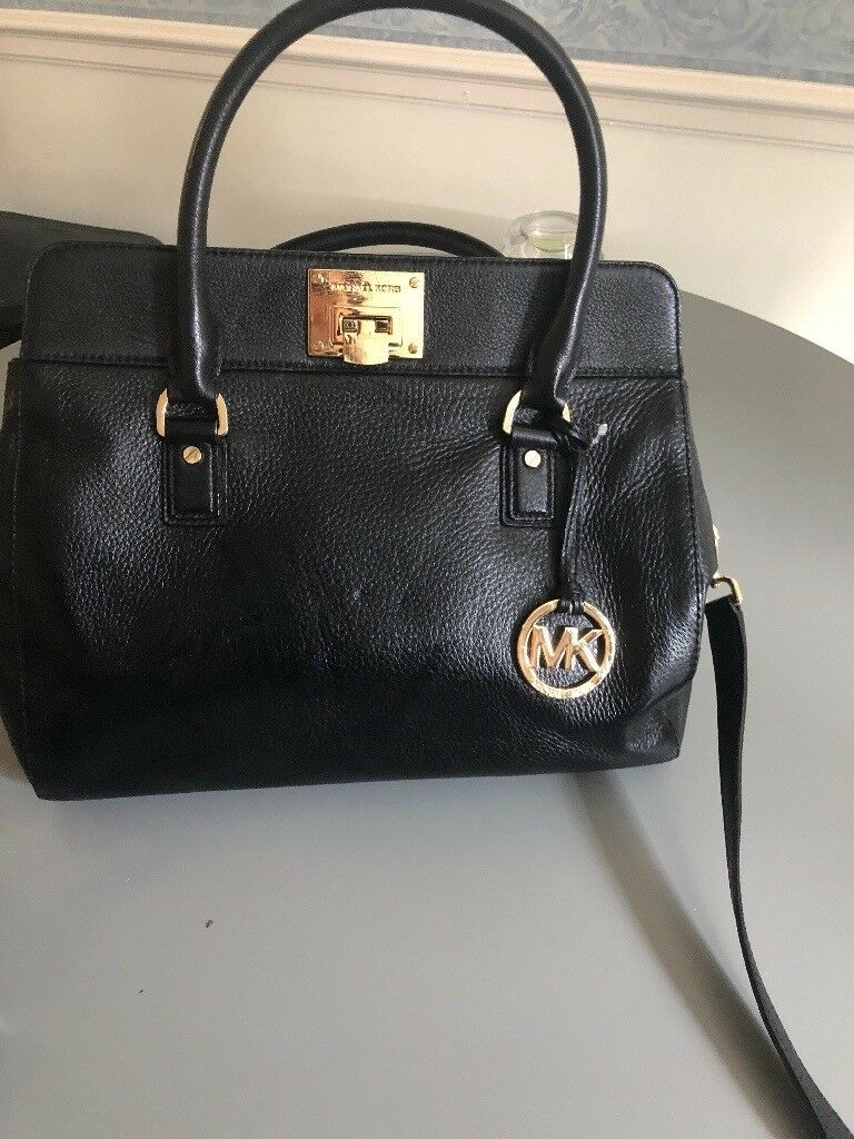5f327bac38f639 Michael kors bag black genuine | in Redhill, Surrey | Gumtree