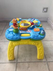 VTech activity and learn table