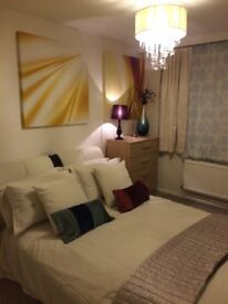 Short let double room available now £180 per week close to city centre