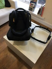 Graco Snugfix 0+ Baby Car Seat with ICO adaptor (Brand new and boxed) RRP £129.99 - £184.99 BLACK