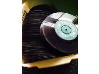 1960s vintage vinyl records (singles)