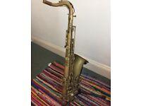 Unlacquered Borgan Profesional Tenor Saxophone