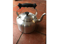 Large AGA brand Aluminium Farmhouse Kettle, used once and in great condition