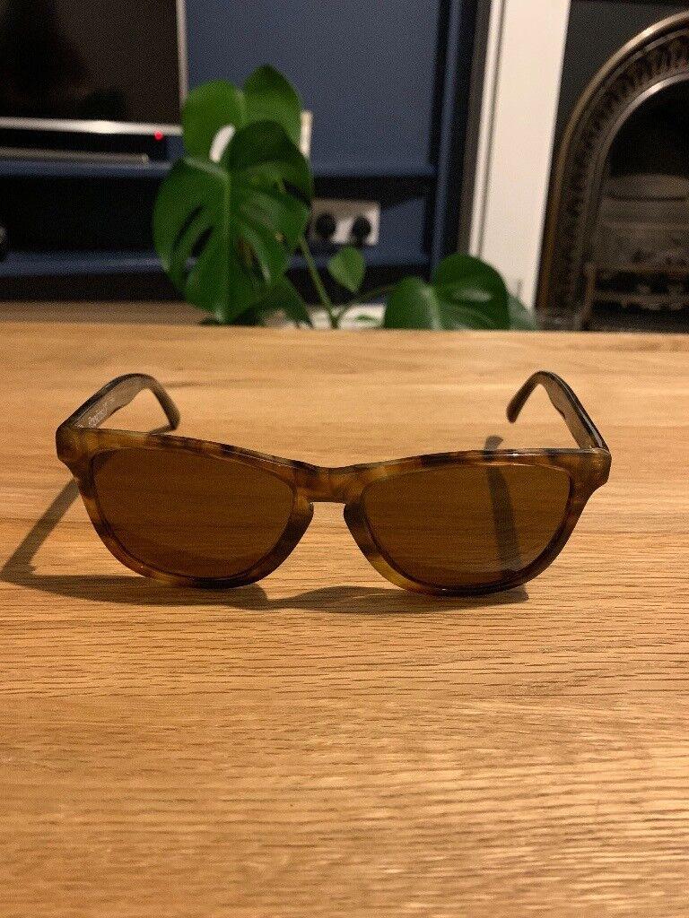 100a0d42df Oakley Frogskin Tortoise Shell Sunglasses