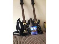 Guitar hero live plus 2 guitars