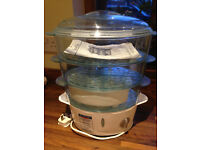 Russell Hobbs 3 Tier Food Steamer Hardly Used, Perfect condition, £15.00