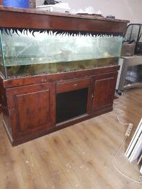 Fish tank nearly 6ft