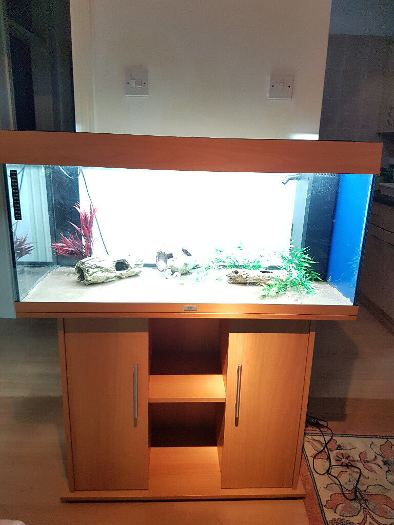 JUWEL RIO 180 LITER FISH TANK AND STAND FOR SALE,,FULL SET UP,