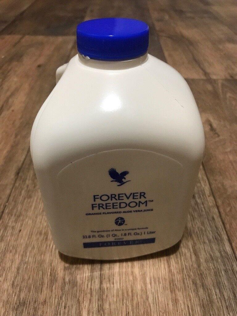 Brand new forever freedom aloe Vera gel
