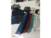 Job lot of clothing to fit size 10, all Zara/H&M/Urban Outfitters/Mango. Jeans, shorts, tops etc