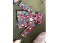 BRAND NEW baby girl rain coat, from TU 6-9 months