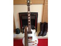 Les paul copy by wesley very good condition