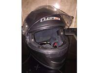 Gents motorcycle helmet, full face , size XL