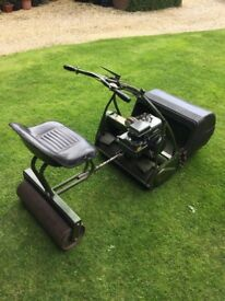 Webb 24inch cylinder mower - ride on roller