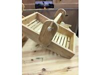 Lovely rustic Trugs made from old reclaimed wood