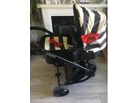 Cosatto giggle pram carrycot / chassis