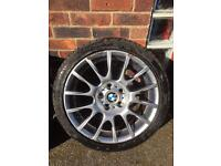 "Bmw 18"" alloys from 320si (original)"