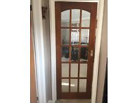 Five interior doors