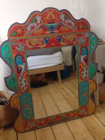 Mirror for sale. Colourfully Themed.
