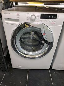 New Graded Hoover Washing Machine 8kg (12 Month Warranty)